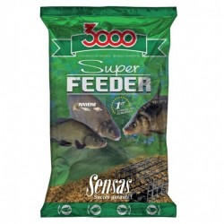 Nada Groundbait Sensas 3000 Super Feeder, 1Kg, Riviere