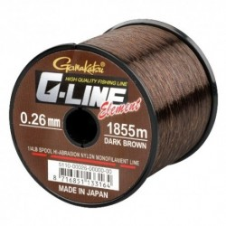 Fir Monofilament Gamakatsu G-Line Element, Rezistenta 4.1 kg, 2270 m, 0.24 mm, Maro