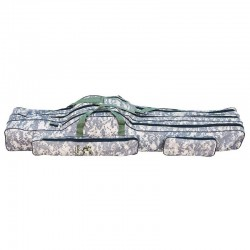 Husa lansete 3 compartimente B20, 130 cm, Digital Camouflage