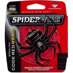 Fir Textil Spiderwire Stealth Red New 2014, 0.12Mm/7,1Kg/110M