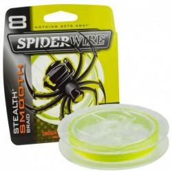 Fir Textil Spiderwire Stealth 8, Rezistenta 15.8 kg, 150 m, 0.17 mm, Galben
