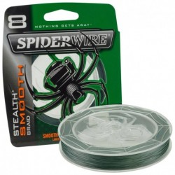 Fir Textil Spiderwire Stealth 8 Verde, 0.20Mm/20Kg/150M