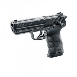 Pistol Airsoft CO2 Hekler&Koch HK45 6mm 15BB 2J - VU.2.5978 + Lanterna cadou