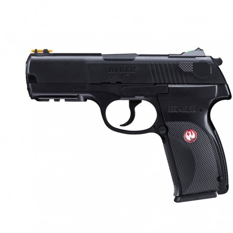 Pistol Airsoft CO2 Umarex Ruger P345 6MM 15BB 2,0J + Lanterna cadou
