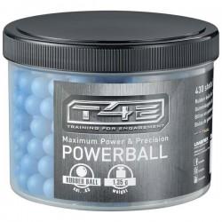 Cutie bile airsoft powerballs cauciuc cal.43 1,3g 430buc