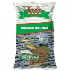 Nada Sensas 3000 Club, 1kg, Bream Brown