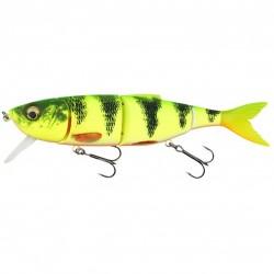 Vobler Shad Savage Gear 4D Line Thru Perch Firetiger, 17cm, 63g