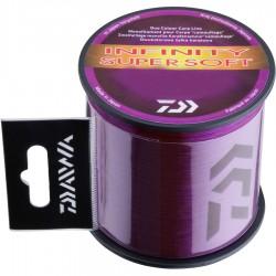 Fir Monofilament Daiwa Infinity Super Soft, Purple Mud, 1350m, 0.27mm/5.8kg