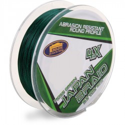Fir Textil Lineaeffe Japan Braid 4X, Rezistenta 8.2 kg, 150 m, 0.16 mm, Verde