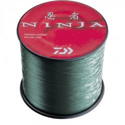 Fir Monofilament Daiwa Ninja X Mono, Rezistenta 7.5 kg, 1060 m, 0.33 mm, Verde