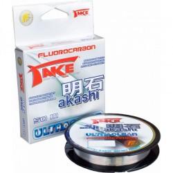 Fir Fluorocarbon Lineaeffe Akashi, Rezistenta 4.5 kg, 50 m, 0.16 mm, Transparent