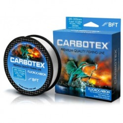 Fir Fluorocarbon Carbotex, Rezistenta 2.7 kg, 30 m, 0.14 mm, Transparent