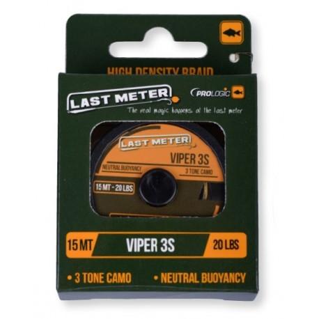 Fir Textil Viper Ultrasoft Ss, Rezistenta 6.8 kg, 15 m, Verde/Negru