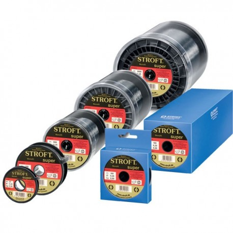 Fir Monofilament Stroft Super, Rezistenta 6.8 kg, 100 m, 0.30 mm, Transparent