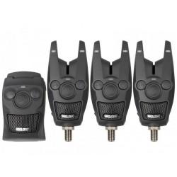 Set Avertizori Radio Prologic Bat+, Multicolor, 3+1