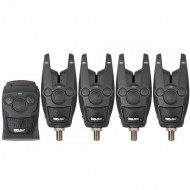 Set 4 Avertizori Prologic Cu Receiver Bat Blue