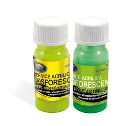 Vopsea Fosforescenta 10 ml Fluo Glowing/Transparent