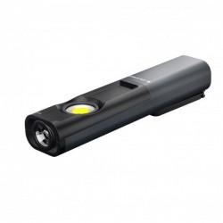 Lanterna Led Lenser Iw7R Black 600Lm + Incarcator
