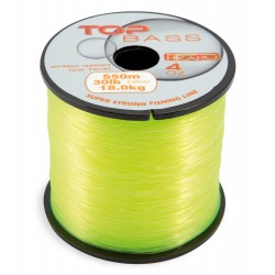Fir Monofilament Bass Top, Rezistenta 11 kg, 550 m, 0.36 mm, Galben
