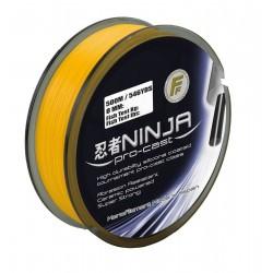 Fir Monofilament Ninja Pro Cast, Rezistenta 5.3 kg, 250 m, 0.20 mm, Portocaliu