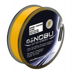 Fir Monofilament Nobu P.Cast, Rezistenta 6.5 kg, 250 m, 0.22 mm, Portocaliu