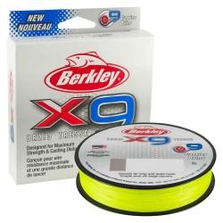Fir Textil Berkley X9 Braid, Rezistenta 27 kg, 150 m, 0.25 mm, Verde