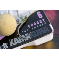 Carlig Kamakura Choddy Microbarbed Nr.4 10Buc/Plic