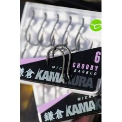 Carlig Kamakura Choddy Microbarbed Nr.8 10Buc/Plic