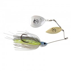 Spinnerbait Da Bush Nr.3/32G White Silver