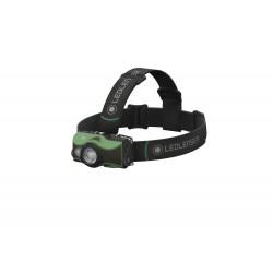 Lanterna De Cap Reincarcabila Led Lenser Mh8 Green, 600 Lumeni