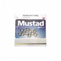 Inel Mustad diametru 5,6Mm/15Kg/10Buc/Plic