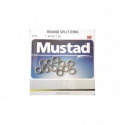 Inel Mustad diametru 6,7Mm/24Kg/10Buc/Plic