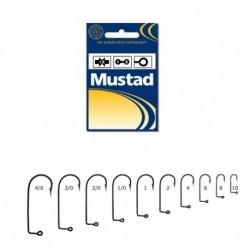 Carlige Mustad M32629BLN Negru Nichel pentru Twister, Nr.5/0 - 100 Buc/Plic
