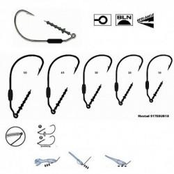 Carlige Mustad M.91768KH Pentru Twister Power Lock Plus, Nr.1/0 - 3 Buc/Plic