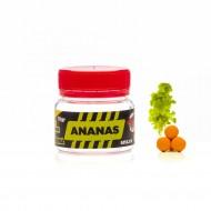 Pop-Up Senzor Planet Fumigena Method Feeder, Ananas, Galben/Portocaliu, 6 mm, 10 gr
