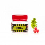 Pop-Up Senzor Planet Fumigena Method Feeder, Krill, Roz/Portocaliu, 6 mm, 10 gr