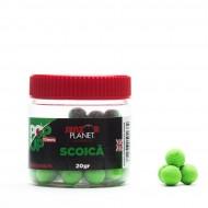 Pop-Up Senzor Planet, Scoica, Verde (fluo), 10 mm, 20 gr