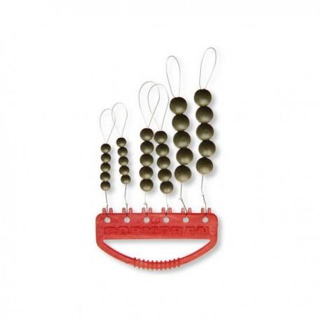 Stopper Cormoran Soft Bead, 30 Buc/Plic