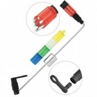 Swinger Cu Contragreutate Cu 4 Capuri Diferite Culori, + Cap Fluorescent, Baracuda