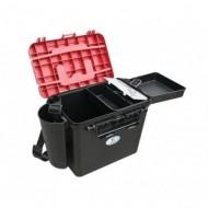 Cutie Pescar Cu Compartiment Intern Pentru Accesorii, 360X230X320Mm, Baracuda