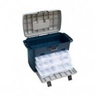 Cutie Pescar Cu 3 Cutii Pentru Spinning Si Un Compartiment Separat, 340X200X310(Mm), Baracuda