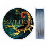 Fir Textil Scorpion, Rezistenta 16.2 kg, 100 m, 0.25 mm, Gri