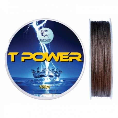 Fir Textil T Power 100M, 0.25Mm/ 16.2Kg, Baracuda
