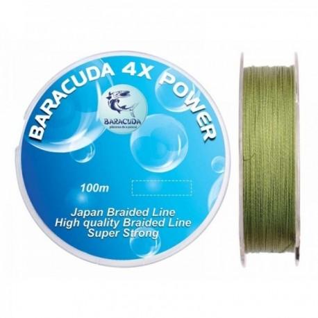 Fir Textil 4X Power 100M, 0.35Mm/ 25Kg, Baracuda