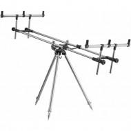 Rod Pod aluminiu Cormoran Gun-Pod 81001, 3 posturi