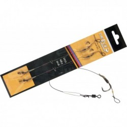 Montura The One Line Aligner Hair Rig 12.5cm 25lbs 2buc/plic Nr. 4