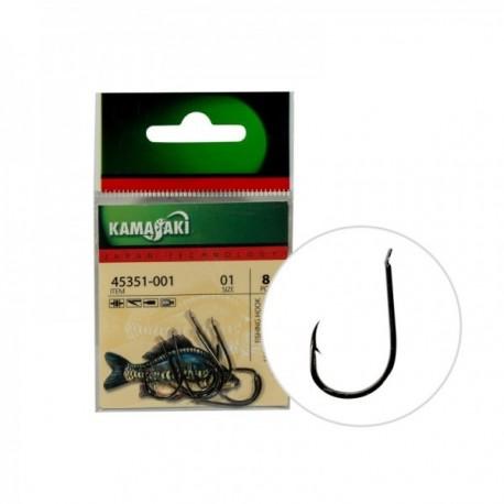 Carlige Kamasaki P807Bn Nr 01 Black Nickel 8Buc/Plic