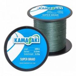 Fir Textil EnergoTeam Kamasaki Super Braid, Green, 1000m,