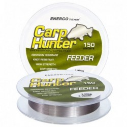 Fir Monofilament Carp Hunter Feeder, Rezistenta 5.2 kg, 150 m, 0.20 mm, Gri