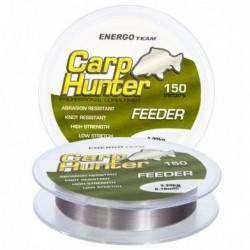 Fir Monofilament Carp Hunter Feeder, Rezistenta 8.3 kg, 150 m, 0.25 mm, Gri